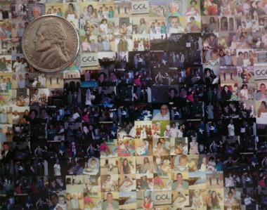 Big Mosaics close up