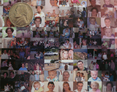 Picture Mosaic close up