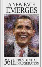Barack Obama's Inauguration Interactive Mosaic