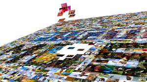 video photo mosaic