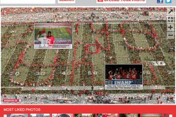 The OSU True Fan Photo Mosaic