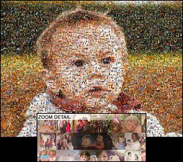 EasyMoza Photo Mosaic