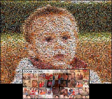 Mosaically Photo Mosaic