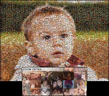 Picture Mosaics Photo Mosaic