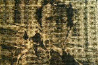 Ed Chapman: Clint Eastwood Bullet Mosaic