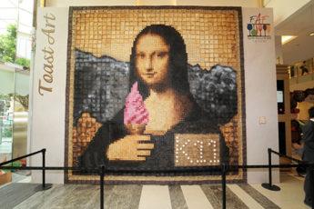 Maurice Bennett: The Toastman - Mona Lisa